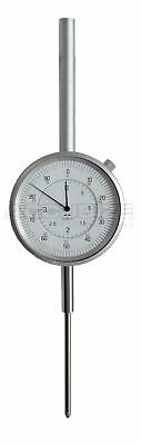 0-3'' x 0.001'' Dial Indicator with Back Lug, Brand New, #P900-S104