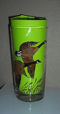 3 Libbey GLASSES Canadian Geese goose  tumblers
