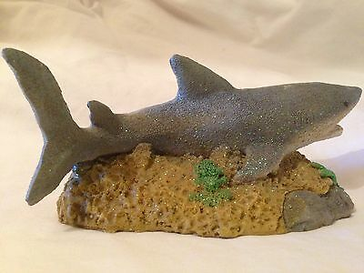 Reef Shark Figurine Miniature Ocean Display Statue Sea Life