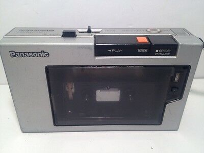 Vintage Panasonic Model RQ-212DAS Tape Cassette Auto One Touch Recorder Player