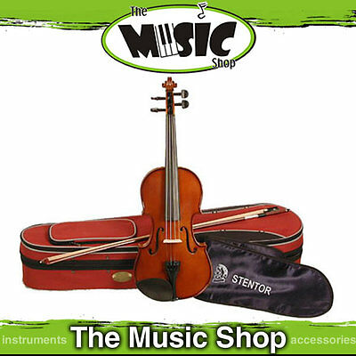 New Stentor Student 2 3/4 Size Violin with Bow & Case  - Solid Spruce S1534