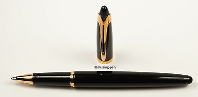 Waterman - Ballpoint Pen Ici et La in Glossy Black - Gold