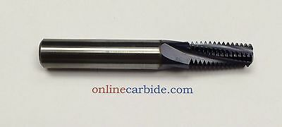 14NPT CARBIDE THREAD MILL - BRAND NEW - TiALN COATED