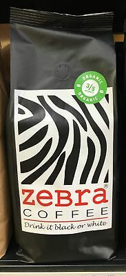 1kg Zebra Organic Coffee Beans - The Espress Group Blend
