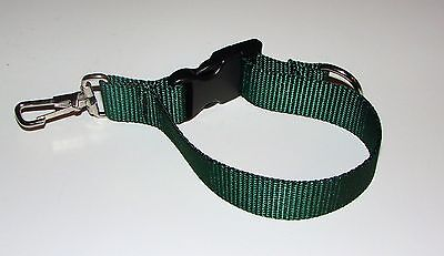 Sav-A-Jake Firefighter Glove Strap - Quick Release Clip - Green