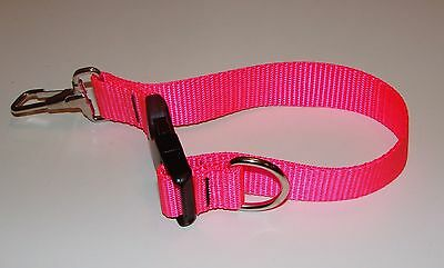 Sav-A-Jake Firefighter Glove Strap - Quick Release Clip - Hot Pink