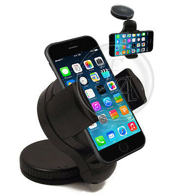 Universal Windscreen In Car Suction Mount Holder Cradle GPS For APPLE IPHONE 6