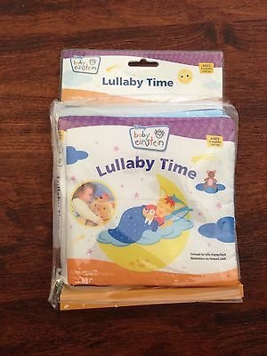 DISNEY BABY EINSTEIN SOFT PADDED LULLABY TIME BOOK - NEW