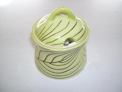 Retro Carlton Ware Hand Painted Australian Design Lidded Preserve Pot.