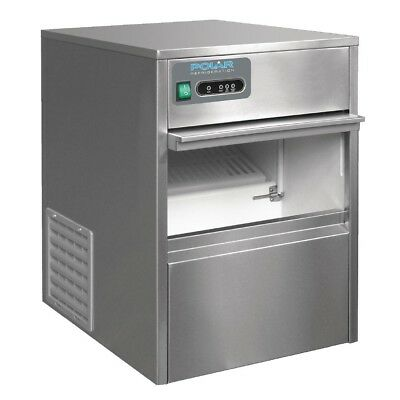Commercial Polar Under Counter Bullet Ice Maker 20kg/24hr