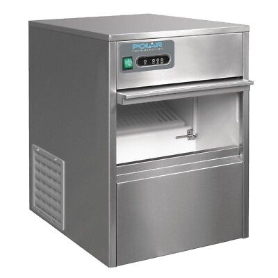 Polar Under Counter Ice Maker Machine Cube Frozen Restaurants Cream Commercial