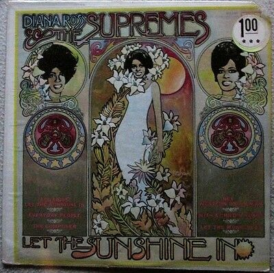 Diana Ross & The Supremes Let the Sunshine In 1969 Motown # MS689 POP SOUL SS LP
