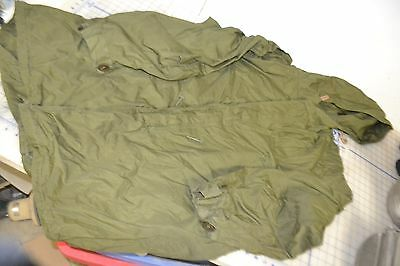 M1951 hooded parka Genuine military size LARGE shell only vintage m51 WOW rare