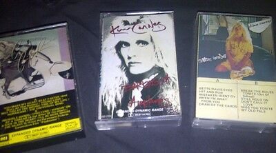 KIM CARNES 3xCassette Tapes MISTAKEN IDENTITY Cafe Racers BARKING AT AIRPLANES
