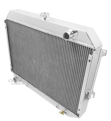 """1968 1969 1970 1971 1972 1973 Plymouth/Dodge 4 Row DR Radiator ( 26"""" Wide Core )"""