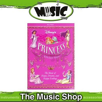 New Disney's Princess Collection Music Book for Easy Piano - Disney Movie Songs