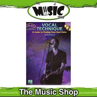 New Musicians Institute: Vocal Technique Music Tuition Book & 2x CDs