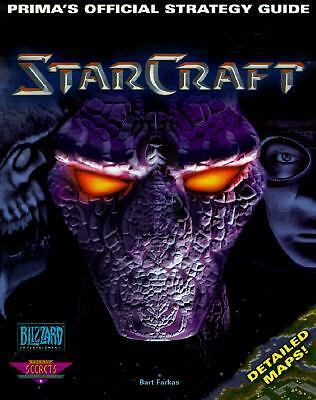 Starcraft: Prima's Official Strategy Guide-BLIZZARD GAMING BOOK-ship worldwide