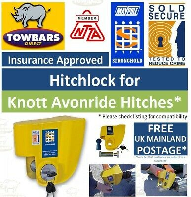 Stronghold Hitchlock for Knott Avonride Inc. Most Ifor Williams Insurance Approv
