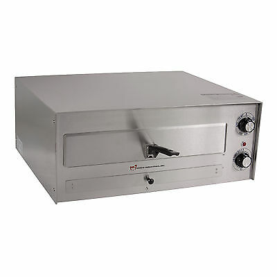 "Wisco 560E 16"" Counter Top Stainless Steel Commercial Pizza Oven"