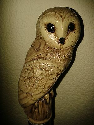 Owl/walking stick/cane/ complete stick