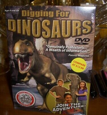 Digging for Dinosaurs 092388090391 (DVD Used Very Good)
