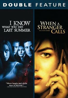 I Know What You Did Last Summer/When a Stranger Calls (DVD Used Very Good) WS