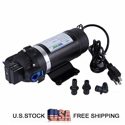 110-120V Misting Pump 160PSI High Pressure Booster Sprayer Water Diaphragm Pump