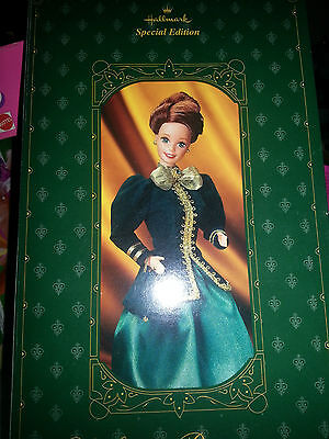 Yuletide Romance Barbie 1996 MIB Hallmark Special Edition 3rd in Series
