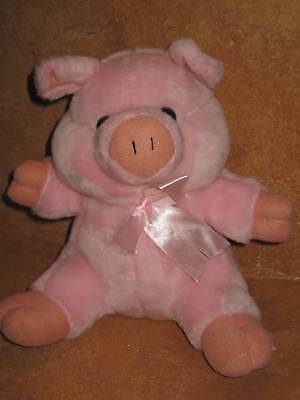 Stuffed Plush Pink Pig Circus Circus Las Vegas Reno Piggy Farm Animal Country