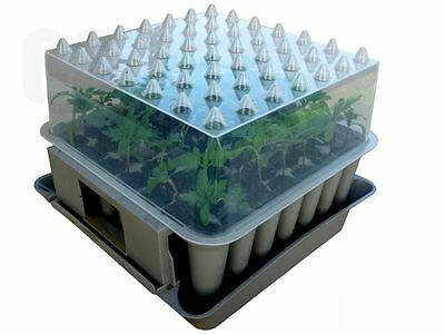 AGRALAN Compact Plug PLANT TRAINER Propagator Seed Sowing Potting Seedling Tray