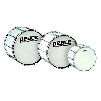 PEACE MD-2214AL CADET series Marching Bass Drum 22'' x 14''