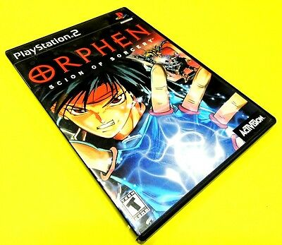 Orphen: Scion of Sorcery [Sony PlayStation 2 / PS2, 2000] ~COMPLETE!!!/VG!!!~