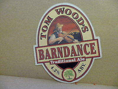 Tom Woods Barndance Ale Beer Pump Clip 2