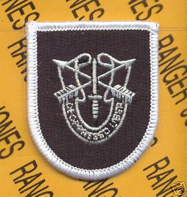 5th Special Forces Airborne #2 B DUI beret flash patch