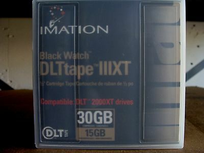 Imation 12070 BlackWatch DLT tape III XT 1/2 Cartridge Tape I