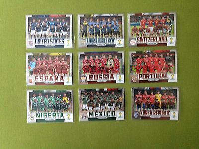 2014 Panini Prizm World Cup TEAM PHOTOS  Complete your Set    LQQK