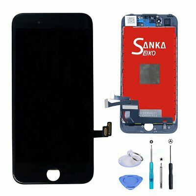 For iPhone 4S Screen Replacement LCD Front Panel Digitizer Assembly Black+Tools