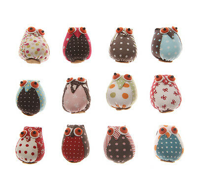 vintage owl fridge magnets memo strong bird decorative gift shabby Chic Rustic