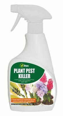 Vitax House Plant Greenfly Caterpillar Pest Killer Spray 300ml