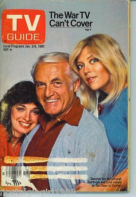 CHICAGO TV GUIDE 1-3-1981 TED KNIGHT~GEORGE ELIOT~PHIL DONAHUE~INSTANT REPLAY