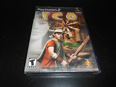 Ico Brand New Factory Sealed PS2 Playstation 2 Black Label