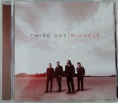 THIRD DAY MIRACLE CD & TSHIRT and CASTING CROWNS CD COME TO THE WELL  (LIKE NEW)