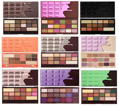 MAKEUP REVOLUTION I Heart Makeup Chocolate Bar Eye Shadow Palettes