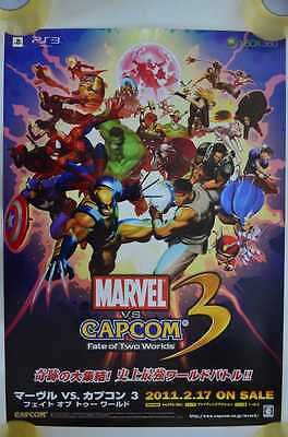 Poster - Marvel VS. Capcom 3 : Fate of Two Worlds - PS3 XBOX360 - 2011 JP /16008