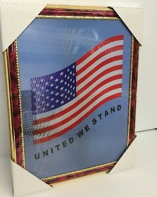 """World Trade Center Picture Framed 3D Twin Towers 13.5"""" X 10.5"""" New #6"""
