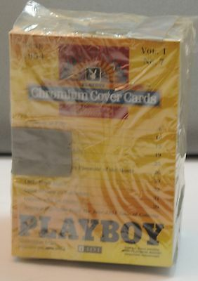 PLAYBOY Chromium Cover Trading Cards Refractor Edition 2 - Complete Set