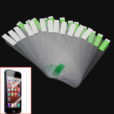 6x Front And 6x Back Clear Touch Screen Protector Film For Apple iPhone 5 5S