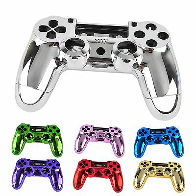 New Chrome Skin Housing Shell Case Cover For Sony PlayStation 4 PS4 Controller