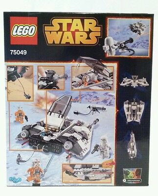 LEGO Star Wars with Minifigs 75049 Snow Speeder with Luke Skywalker and Dax Troo